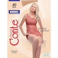 Колготки женские «Conte Elegant Nuance» 40 den, nero, 6.