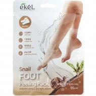 Пилинг-носочки «Snail Foot Peeling Pack» с муцином улитки, 40 г.