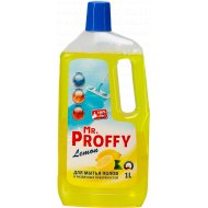 Средство моющее для мытья полов «Mr. Proffy» lemon, 1 л.