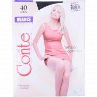 Колготки женские «Conte» Nuance 40, Nero.