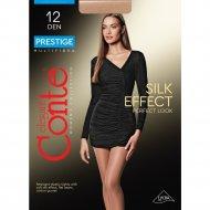 Колготки женские «Conte» Prestige, 12 den, 5, bronz.
