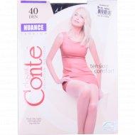 Колготки женские «Conte» Nuance, размер 5, 40 den, Nero