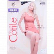 Колготки женские «Conte» Nuance, размер 6, 40 den, Nero