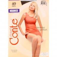 Колготки женские «Conte» Nuance 40, Shade.