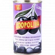 Испанские маслины «Coopoliva» без косточки 350 г.