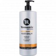 Профессиональный бальзам «Romantic» для поврежденных волос, 850 мл