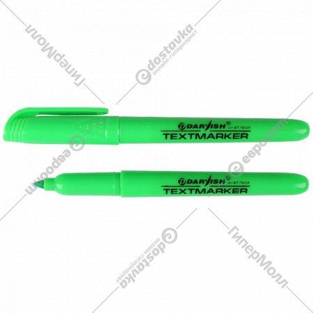 Маркер-выделитель «Darvish» зеленый.