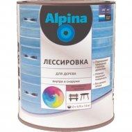 Средство защитное «Alpina» Лессировка, шелковисто-матовая, белый, 2.5 л