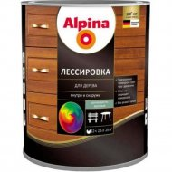 Средство защитное «Alpina» Лессировка, шелковисто-матовая, махагон, 2.5 л