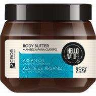 Масло для тела «Hello nature argan oil body butter» 250 мл.