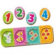 Игрушка-вкладыш «Учимся считать».