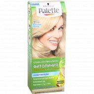 Крем-краска для волос «Palette» фитолиния, 218 пепельный блонд.