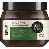 Масло для тела «Hello nature cannabis oil body butter» 250 мл.