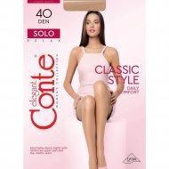 Колготки женские «Conte» Solo, размер 3, 40 den, Nero