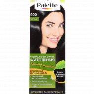 Краска для волос «Palette» фитолиния 900, черный.