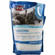 Наполнитель кошачьего для туалета «Trixie» силикагелевый, 1.65 кг.