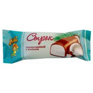 Сырок глазированный «Лёва» с кокосом 16 %, 40 г .