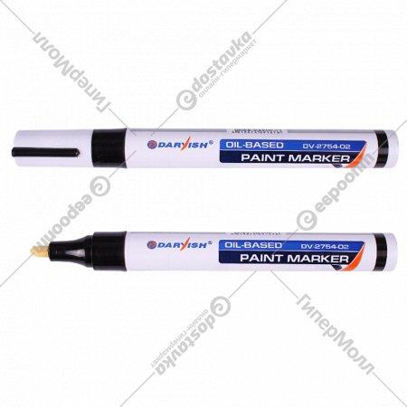 Маркер-краска «Darvish» черный.