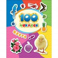 Книга «100 наклеек. Цвета».