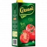 Сок «Сочный» томатный с мякотью 2 л.