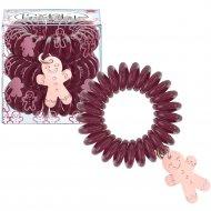 Резинка-браслет для волос «Invisibobble» бордовая, 3 шт.