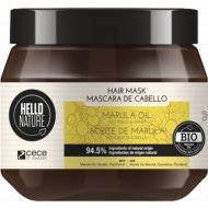 Маска для волос «Hello nature marula oil mask» масло марулы, 250 мл.