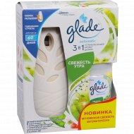 Освежитель воздуха автоматический «Glade» свежесть утра, 269 мл.