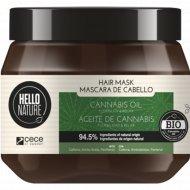Маска для волос «Hello nature cannabis oil» с маслом конопли, 250 мл.