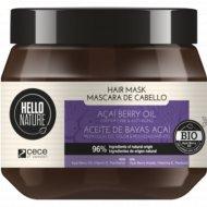 Маска для волос «Hello nature» с маслом асаи, 250 мл