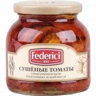 Томаты сушёные «Federici» в подсолнечном масле, 280 г.