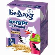 Йогурт питьевой «Беллакт» злаки, 2.6%, 210 г.