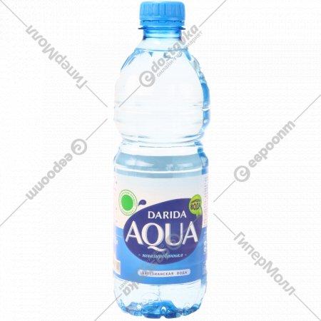 Вода питьевая «Дарида» негазированная, 0.5 л.