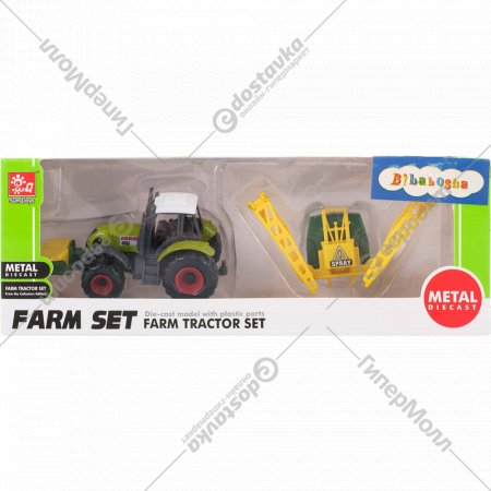 Игровой набор «Трактор с прицепом»