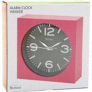Часы настольные с будильником 14 см.