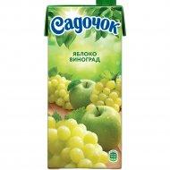 Нектар «Садочок» яблочно-виноградный 950 мл.