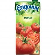 Сок томатный «Садочок» с сахаром и солью, с мякотью, 950 мл.