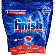 Таблетки для посудомоечных машин «Finish All in 1» 50 таблеток.