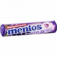 Жевательная резинка «Mentos» виноград, 15.5 г.