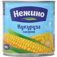Кукуруза сахарная «Нежино» в зернах, 400 г.