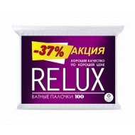 Ватные палочки «Relux» 100 шт.