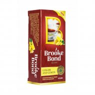 Чай черный «Brooke Bond» имбирь и лимон, 25 пакетиков.