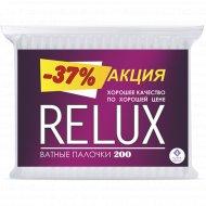 Ватные палочки «Relux» 200 шт.