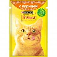 Корм для кошек «Friskies» с курицей в подливе, 85 г