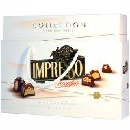Подарочный набор шоколадных конфет «Impresso Premium» белый, 424 г.