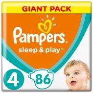 Подгузники «Pampers» Sleep & Play 9-14 кг, 4 размер, 86 шт.