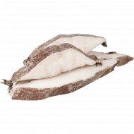 Зубатка синяя атлантическая стейк, 1 кг., фасовка 0.65-0.95 кг