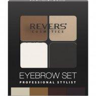 Набор для моделирования бровей «Revers» Eyebrow Set, № 03, 4.5 г.