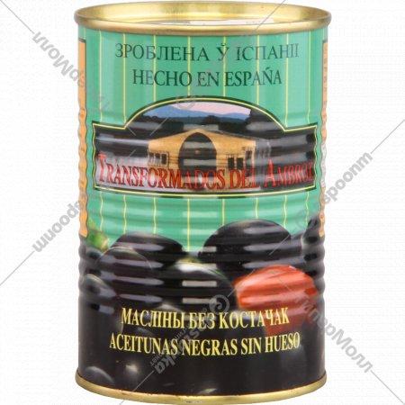 Маслины «Aceitunas Gonzalez» без косточки, 300 г.