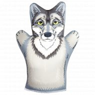 Кукла-перчатка «Волк».