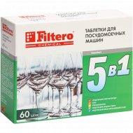 Таблетки для посудомоечной машины «Filtero» 5в1 - 772.
